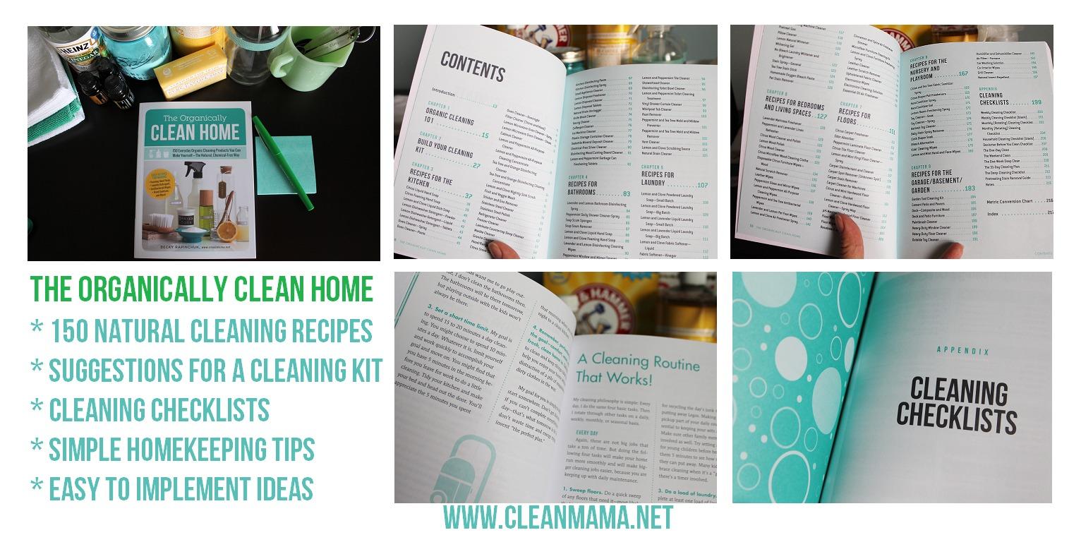 The Organically Clean Home Details via Clean Mama