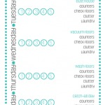 The Clean House Cleaning Routine via Clean Mama