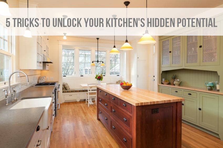 5 Tricks to Unlock Your Kitchen's Hidden Potential via BrightNest on Clean Mama