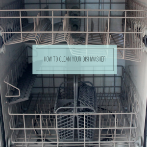 How to Clean Your Dishwasher via Clean Mama