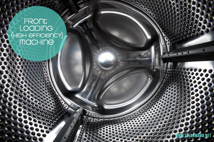 How to Naturally Clean Any Washing Machine - Front Loading (HE) via Clean Mama