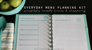 Clean Mama's Everyday Menu Planning Kit Clean Mama Printables