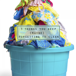 3 Things You Keep (Maybe) Forgetting to Clean via BrightNest on Clean Mama