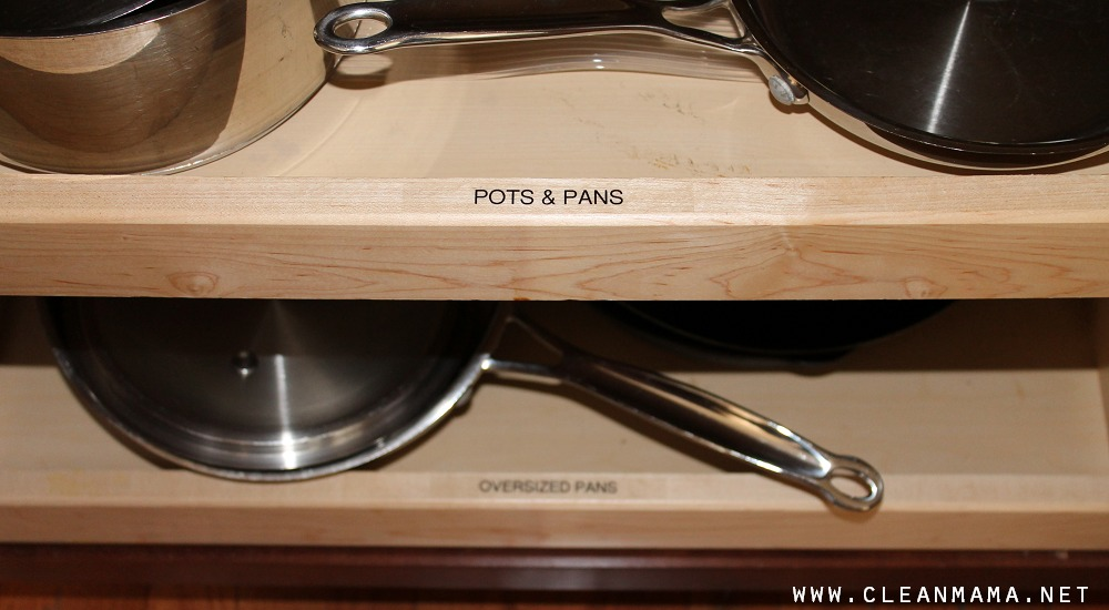 Pots and Pans and Oversized Pans via Clean Mama
