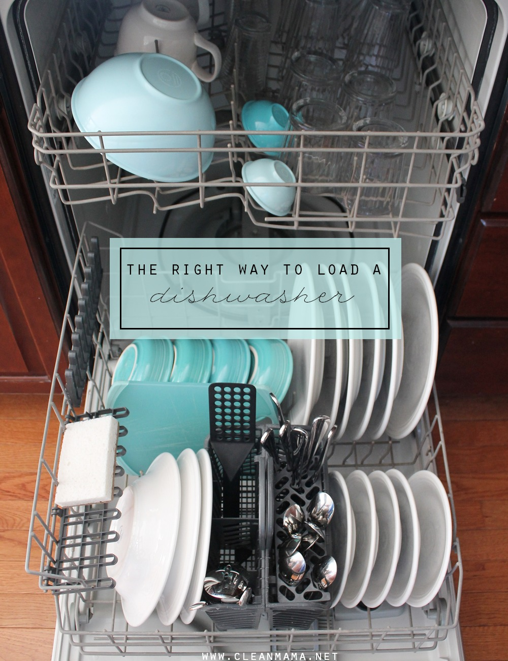 How to load the dishes in the dishwasher: how to use the dishwasher 96