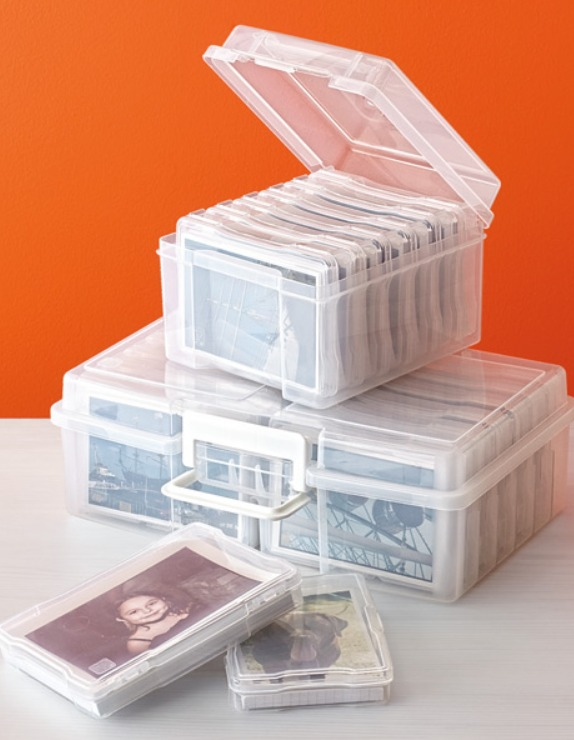 container store photo boxes
