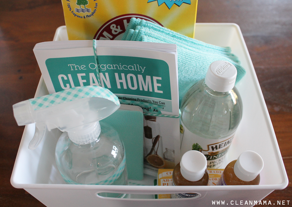 DIY Cleaning Gift Kit via Clean Mama