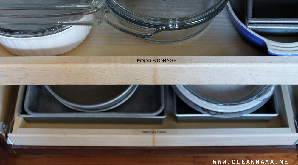 Food Storage and Baking Pans via Clean Mama