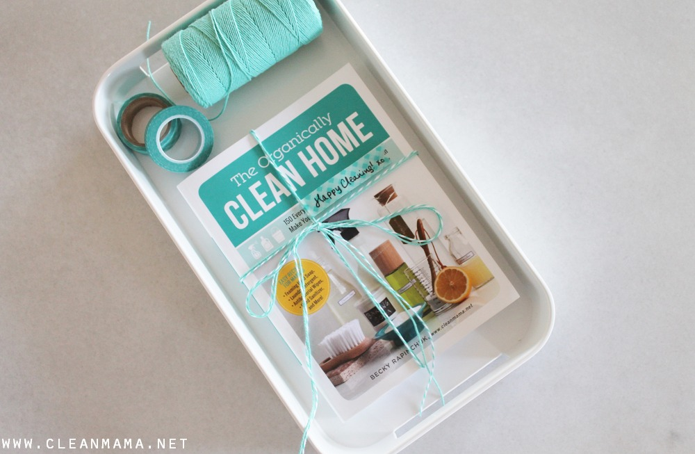 Give the Gift of The Organically Clean Home this Holiday Season via Clean Mama