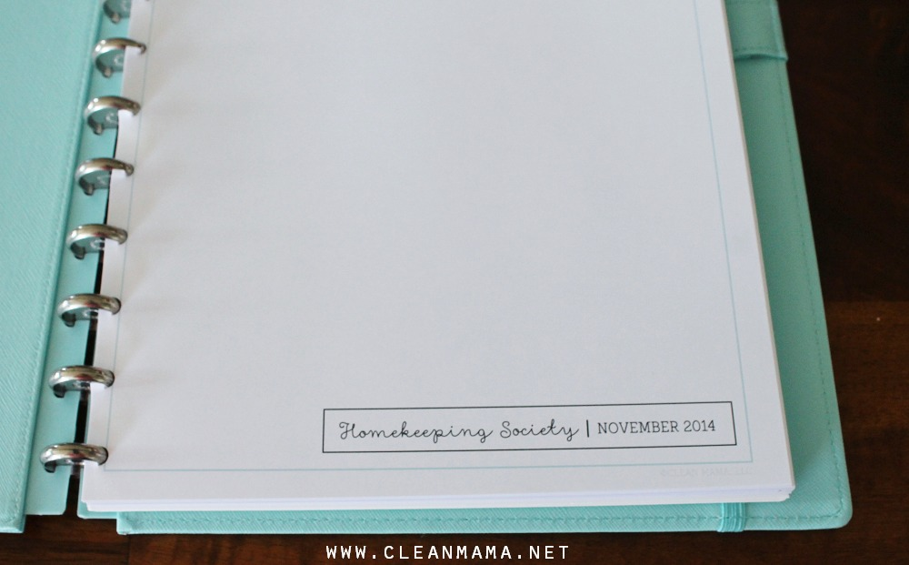 Homekeeping Society Sneak Peak Clean Mama