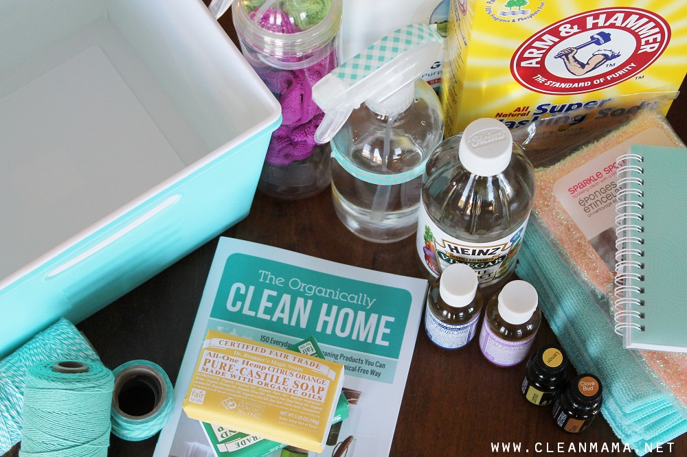 Ingredient Ideas for Homekeeping Gifts via Clean Mama