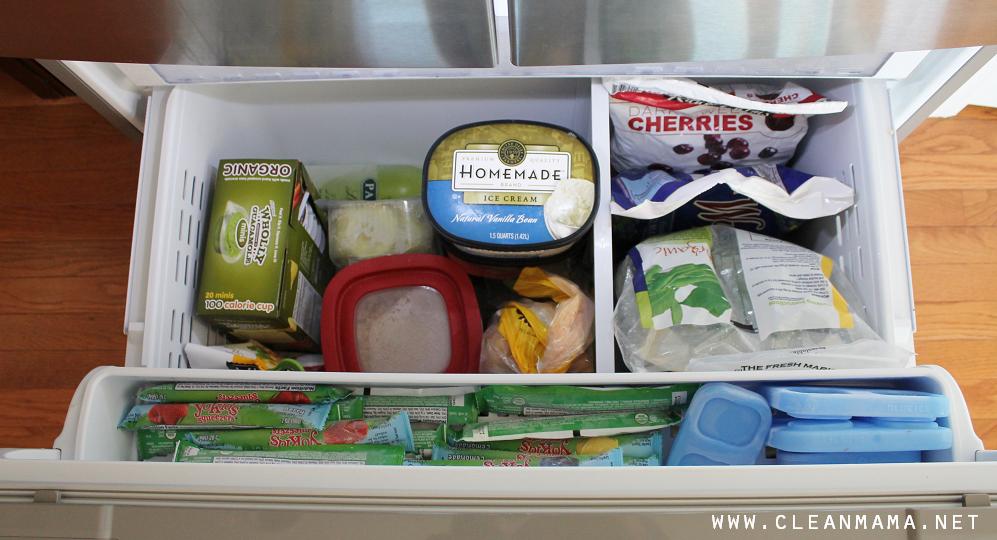 Organizing a Freezer via Clean Mama