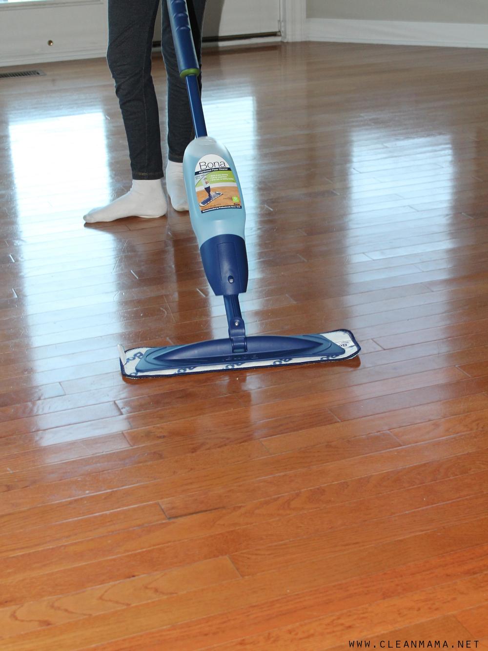 Easy to Clean Floors via Clean Mama