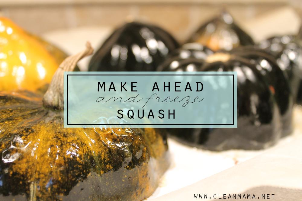 Make-Ahead (and Freeze) Squash via Clean Mama