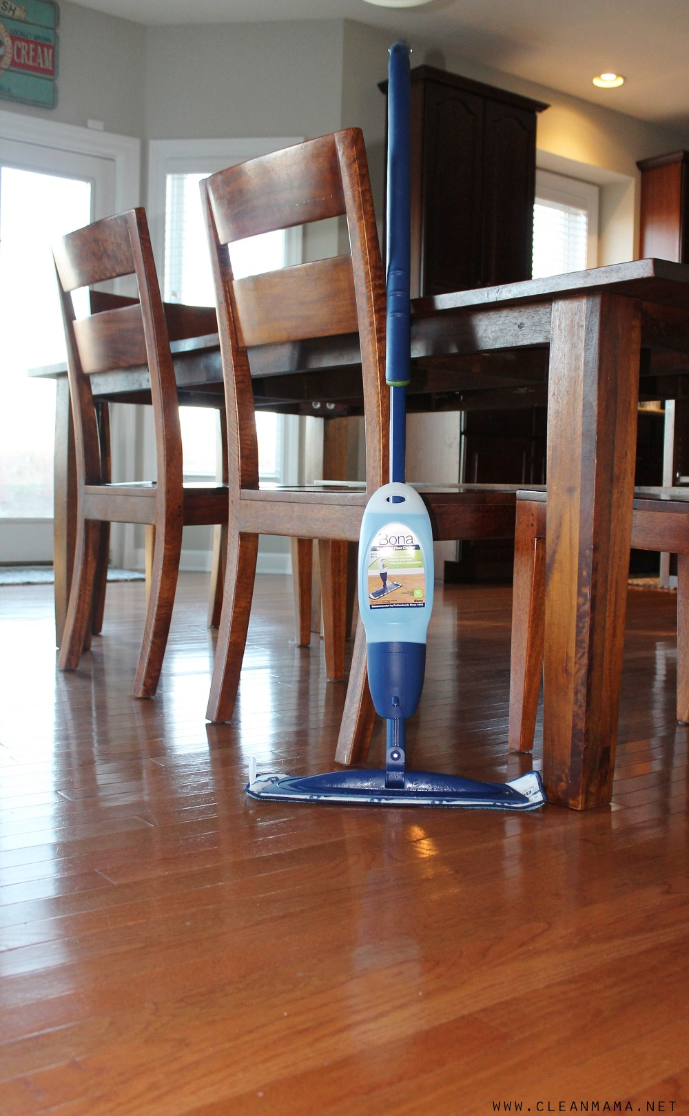 Sparkling Clean Floors from Bona via Clean Mama