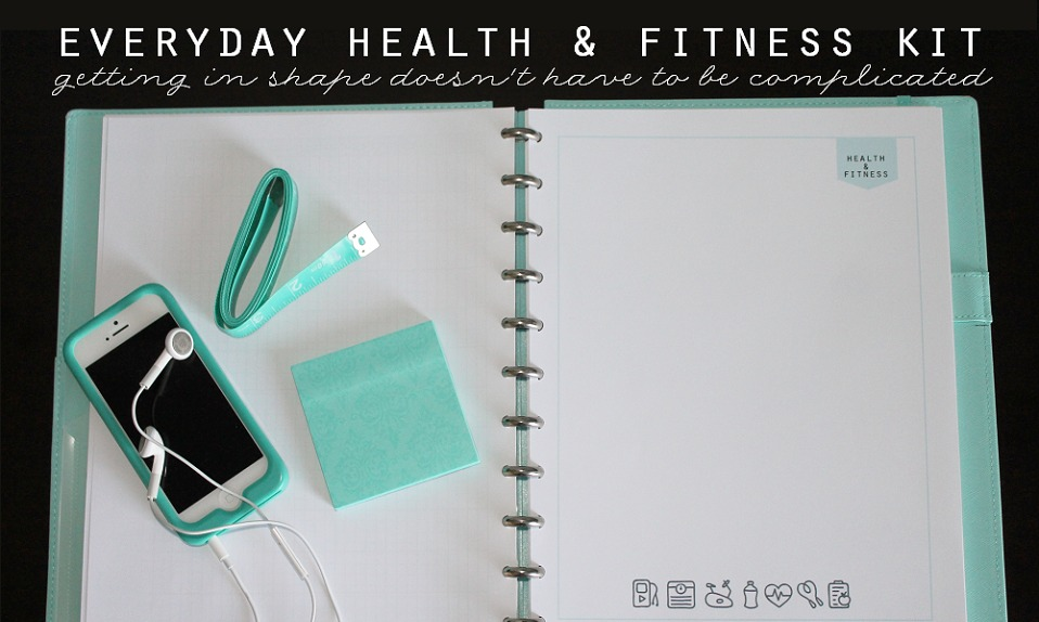 Everyday Health + Fitness Kit main - Clean Mama Printables