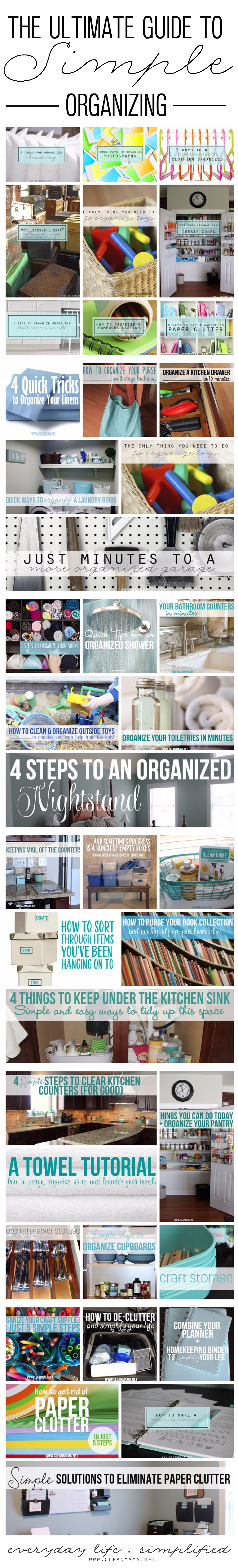 The Ultimate Guide to Simple Organizing
