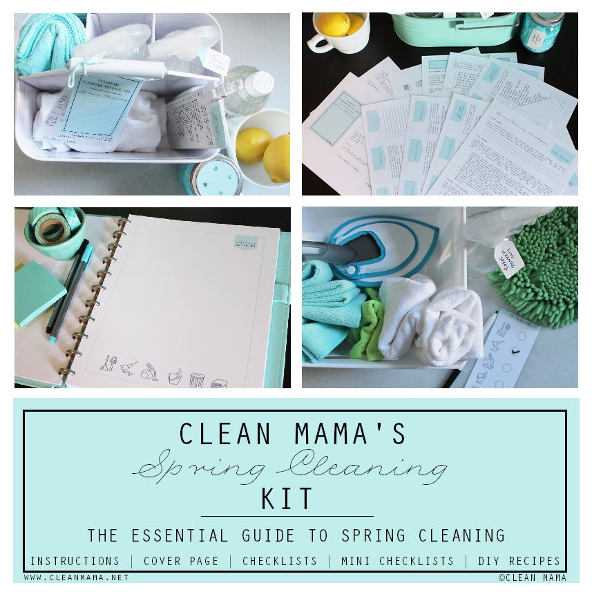 Clean Mama's Spring Cleaning Kit