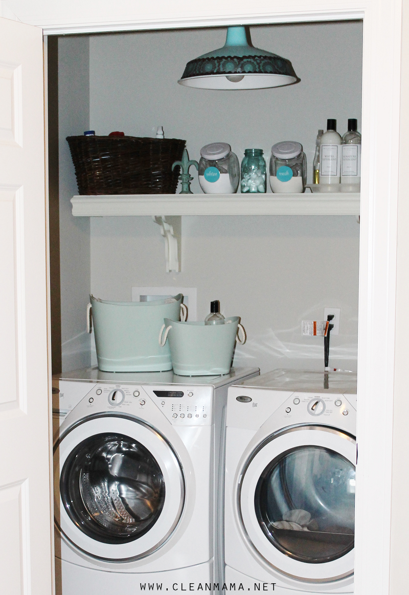 Clean Mama Laundry Room - Clean Mama