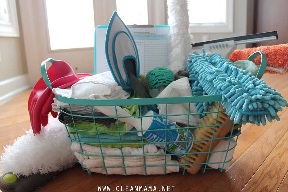 Spring Cleaning Caddy via Clean Mama