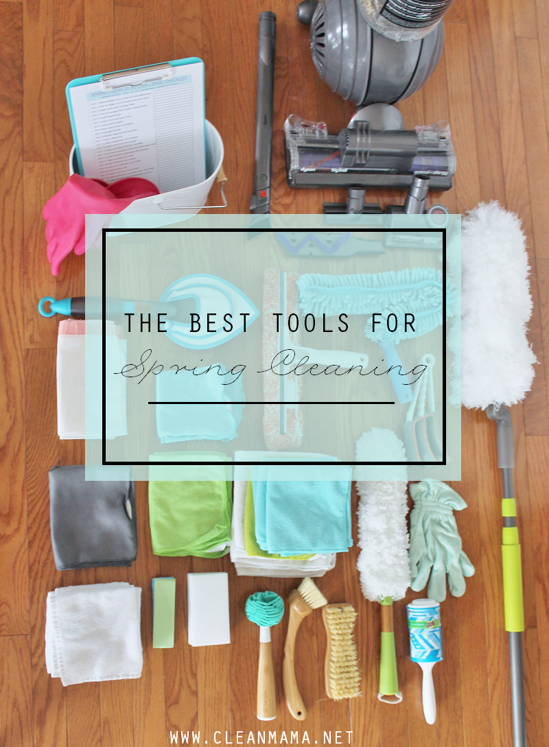 The Best Tools for Spring Cleaning via Clean Mama