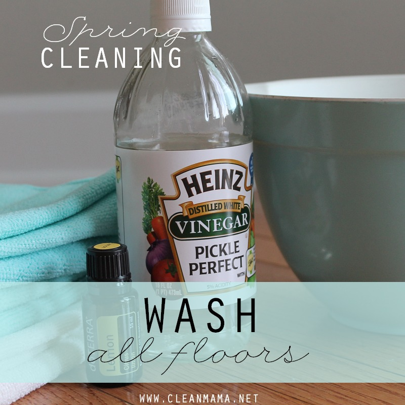 DAY 29 Wash All Floors via Clean Mama