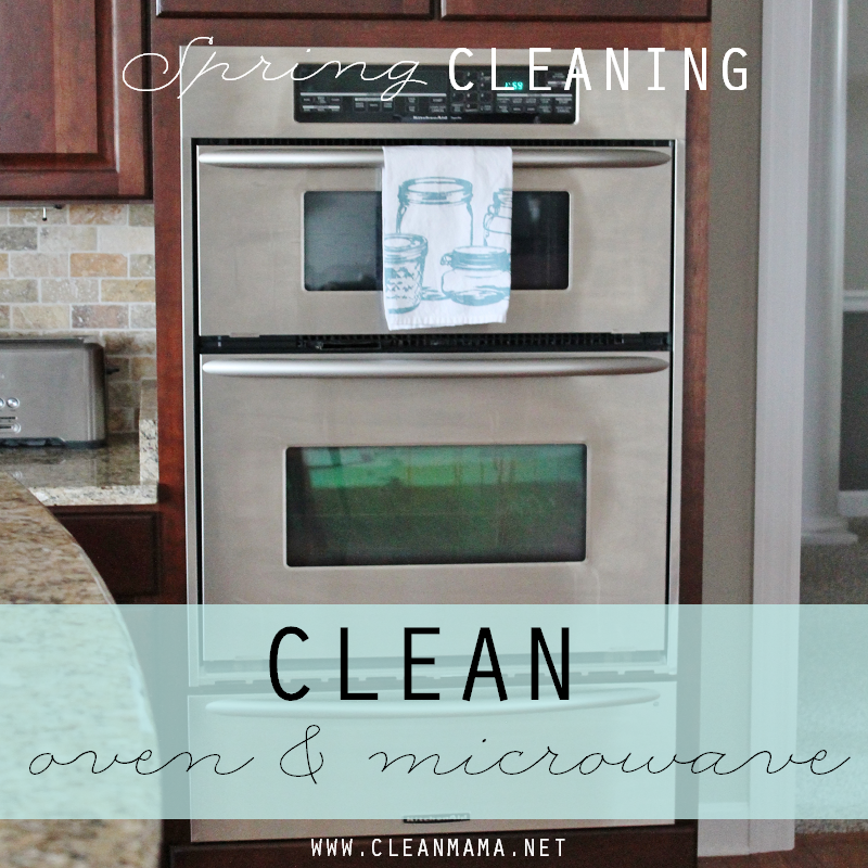 Day 13 Clean Oven and Microwave via Clean Mama
