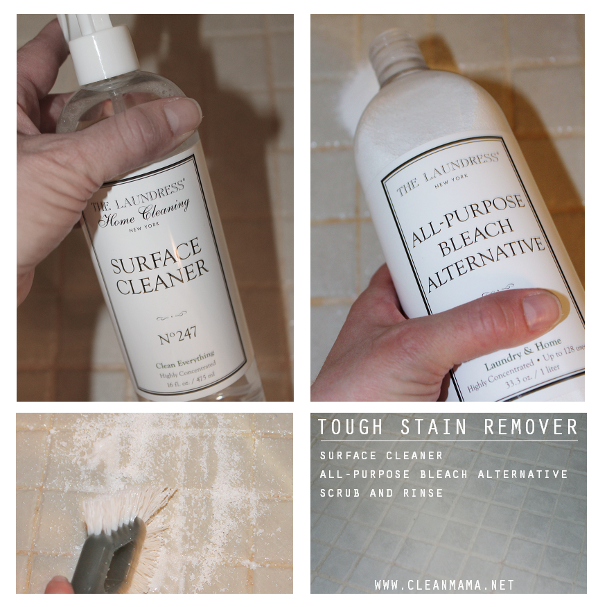 Laundress Tough Stain Remover via Clean Mama