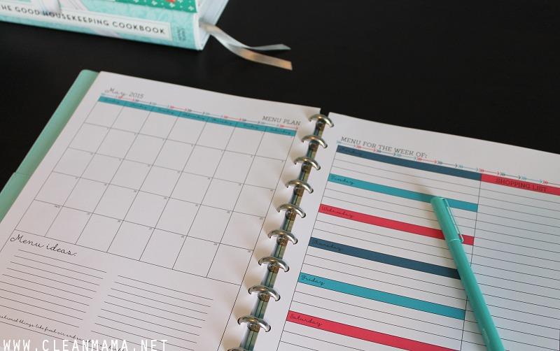 May Homekeeping Society - Menu Planning via Clean Mama