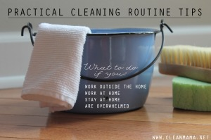 Practical Cleaning Routine Tips via Clean Mama