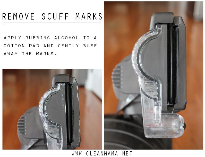 Remove Scuff Marks via Clean Mama