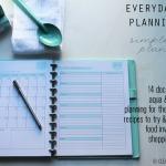 Everyday Menu Planning Kit - main - Clean Mama