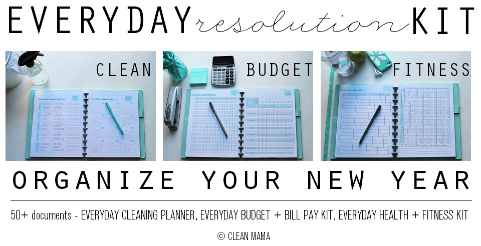 Everyday Resolution Kit - main - Clean Mama