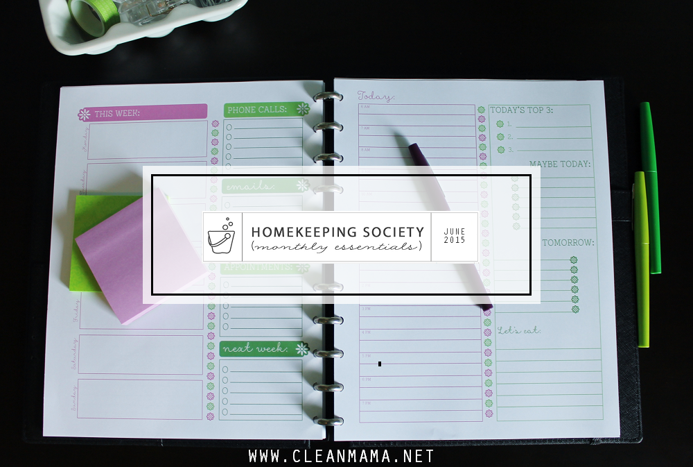 June Homekeeping Society via Clean Mama - Main
