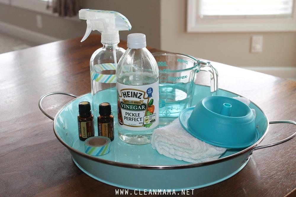 DIY Cleaning Spray via Clean Mama