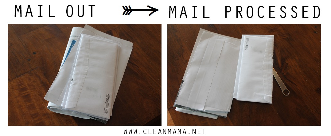 Mail Out - Mail Processed via Clean Mama