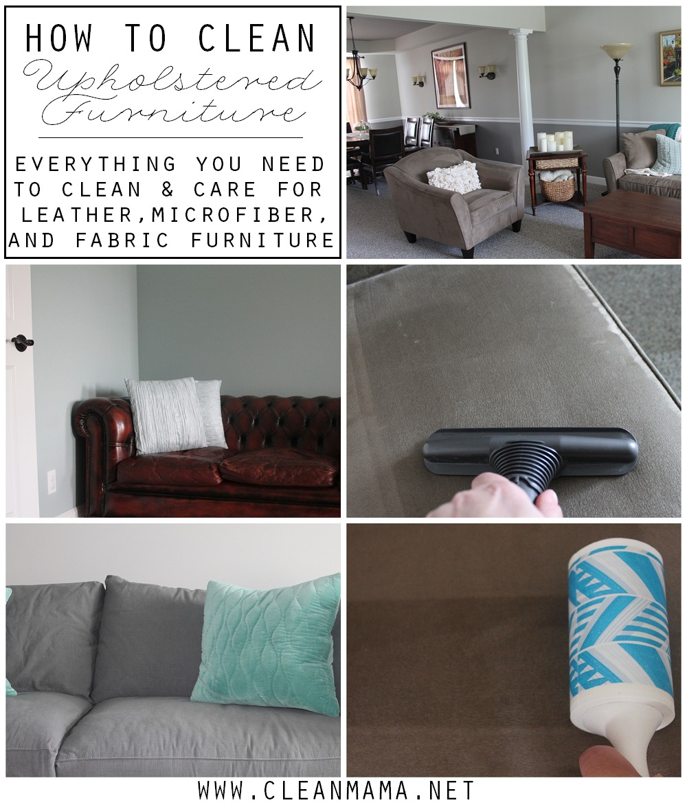 How To Clean Upholstered Furniture Mama