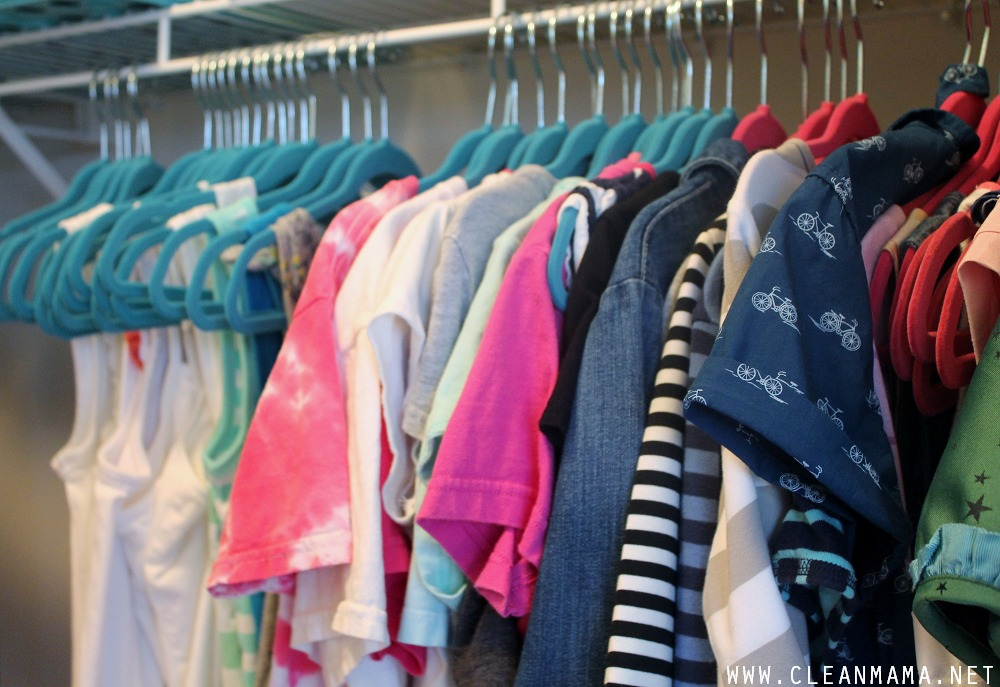 Clothes Close-Up via Clean Mama