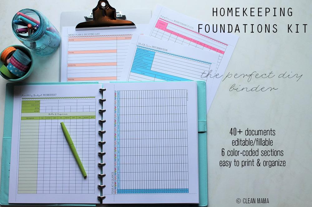 Homekeeping Foundations Kit - main - Clean Mama