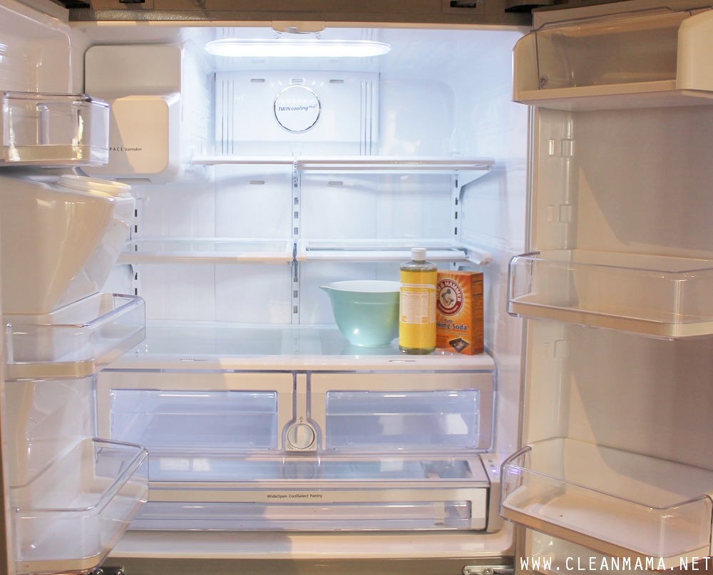 How to Clean Your Refrigerator - Clean Mama