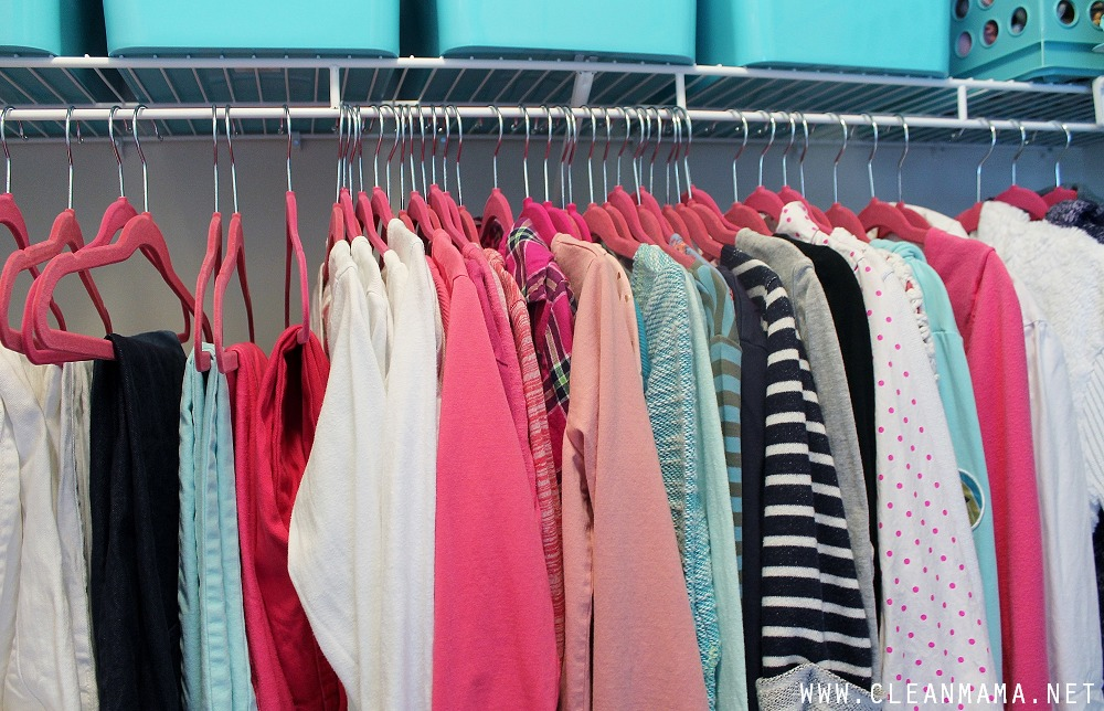 How to Organize Kids Closets via Clean Mama