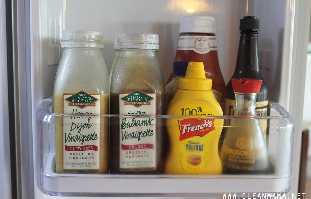 Keep Condiments Simple via Clean Mama