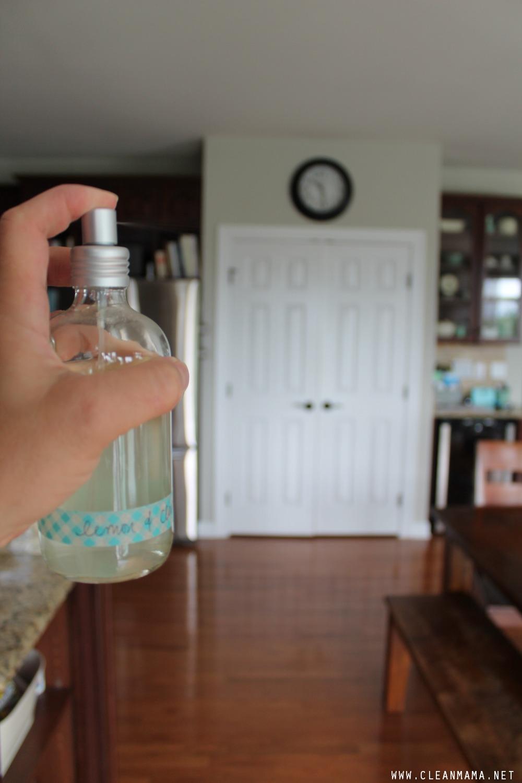 Lemon + Clove Air Freshener via Clean Mama