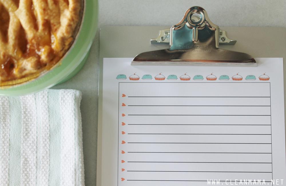 To Do List - September Homekeeping Society via Clean Mama