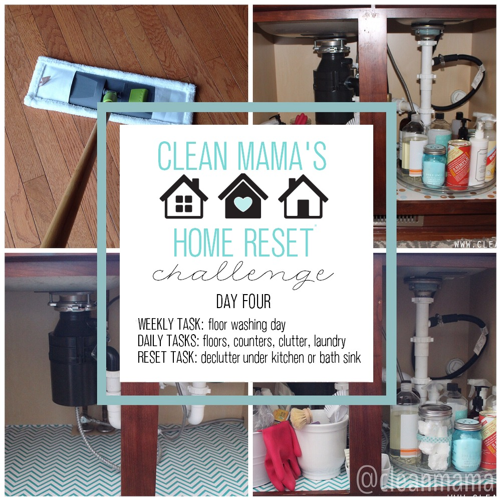 Clean Mama's Home Reset Challenge - DAY FOUR
