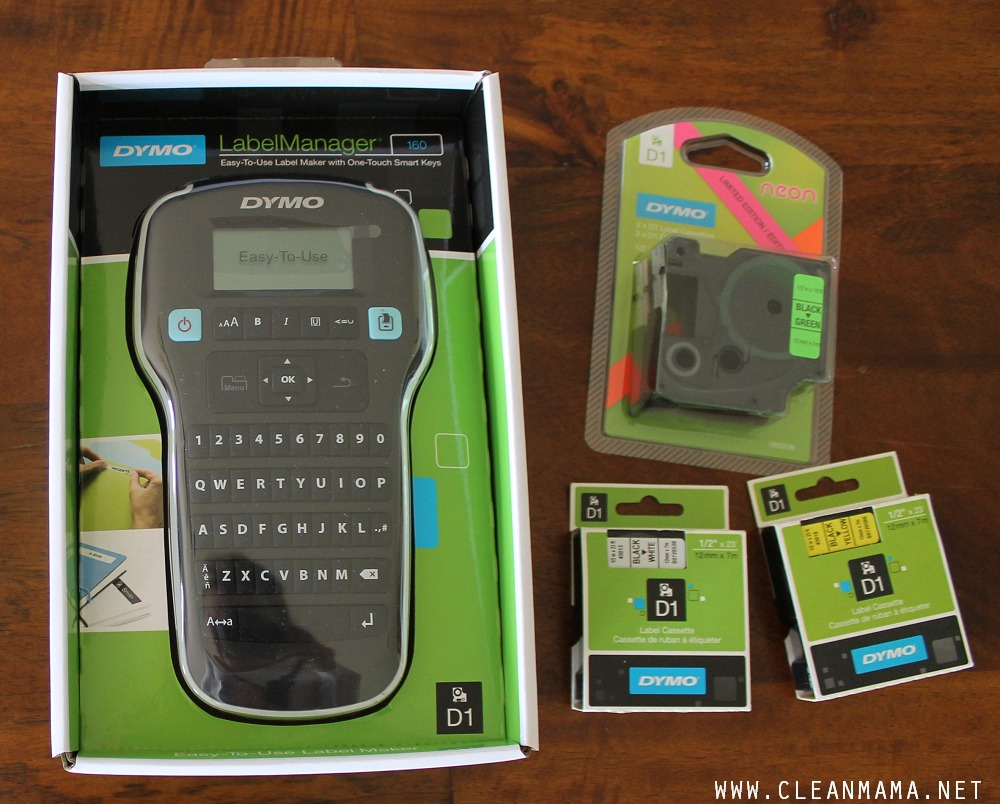 DYMO Label Manager via Clean Mama