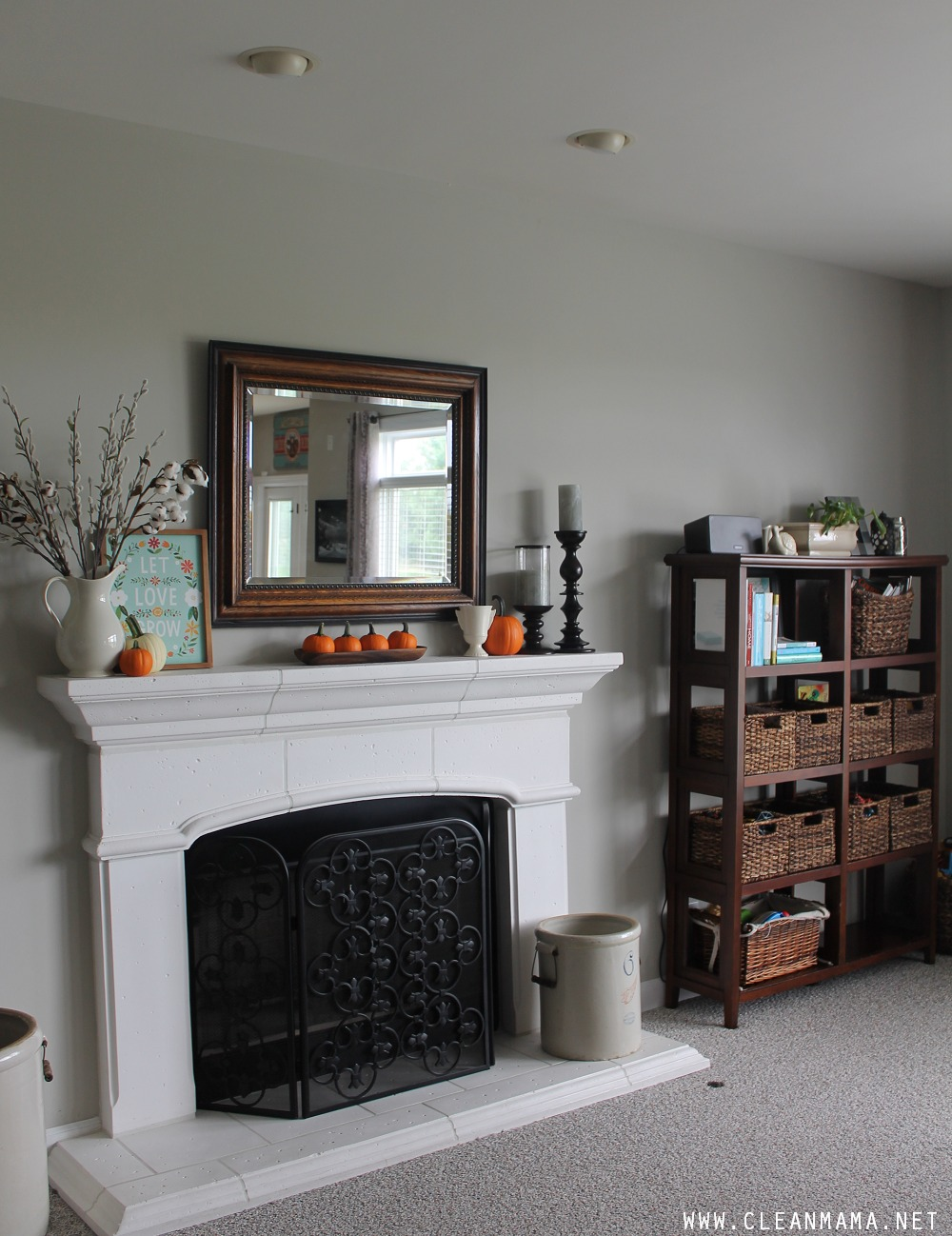 Organized Clutter Collectors - AFTER via Clean Mama