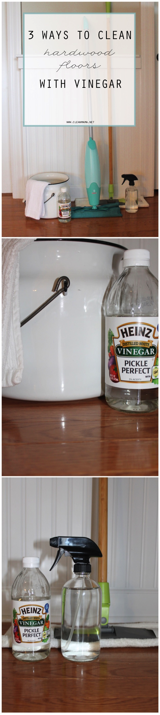 3 ways to clean hardwood floors with vinegar