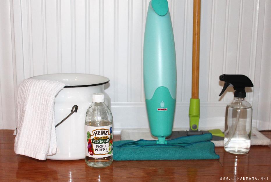 3 Ways to Wash Hardwood Floors via Clean Mama