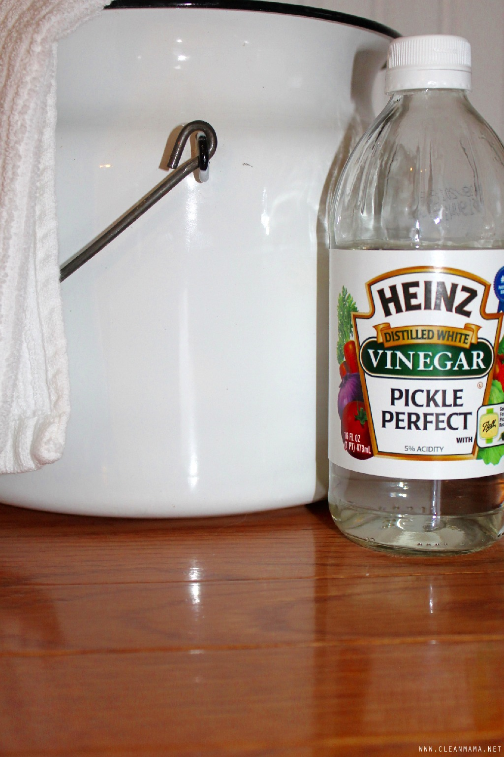 Hardwood Floors with Vinegar – Clean Mama